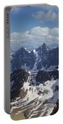 T-703502-ten Peaks From Summit Of Mt. Lefroy Portable Battery Charger