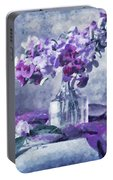 Tender Moments Still Life Portable Battery Charger