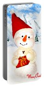 Tender Snowman Portable Battery Charger