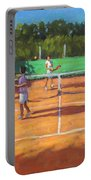 Tennis Practice Portable Battery Charger