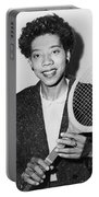 Tennis Star Althea Gibson Portable Battery Charger