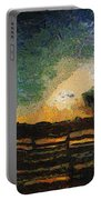 Tequila Sunrise Photo Art 04 Portable Battery Charger