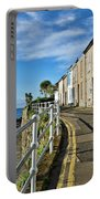 Terraced Cottages At Mousehole Portable Battery Charger