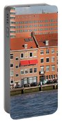 Terraced Houses In Rotterdam City Centre Portable Battery Charger