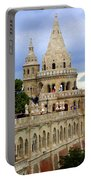 Terraces And Towers Of Fishermans Bastion Portable Battery Charger