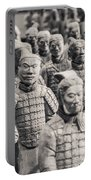 Terracotta Army Portable Battery Charger by Adam Romanowicz