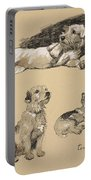Terriers, 1930, Illustrations Portable Battery Charger