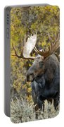 Teton Bull Moose Portable Battery Charger by Gary Langley