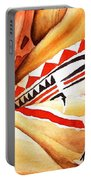 Teton Dacota Indian Woman Detail Portable Battery Charger