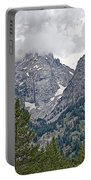 Teton Peaks Near Jenny Lake In Grand Teton National Park-wyoming- Portable Battery Charger