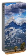 Teton Range And Two Trees Portable Battery Charger
