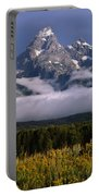 1m9396-tetons Above Fog, Wy Portable Battery Charger
