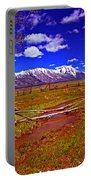 Tetons From Antelope Flats Portable Battery Charger