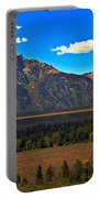 Tetons Mountians Portable Battery Charger