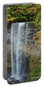 Tews Falls In Autumn Portable Battery Charger