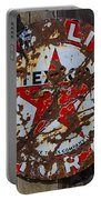 Texaco Sign Portable Battery Charger