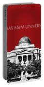 Texas A And M University - Dark Red Portable Battery Charger