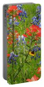 Texas Best Wildflowers Portable Battery Charger