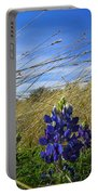 Texas Bluebonnet Center Of Attention Portable Battery Charger