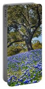 Texas Bluebonnet Hill Portable Battery Charger