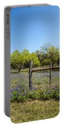 Texas Bluebonnet Lupine Pature Portable Battery Charger