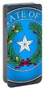 Texas State Seal Portable Battery Charger