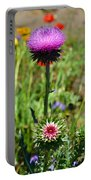Texas Thistle Portable Battery Charger