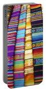 Textile Market Otavalo Ecuador Portable Battery Charger