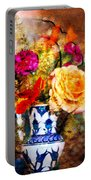 Textured Bouquet Portable Battery Charger