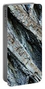 Textured Tree Bark Portable Battery Charger
