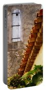 Textures In A Provence Village Portable Battery Charger