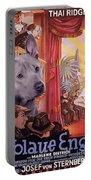 Thai Ridgeback Art Canvas Print - Der Blaue Engel Movie Poster Portable Battery Charger