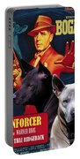 Thai Ridgeback Art Canvas Print - The Enforcer Movie Poster Portable Battery Charger