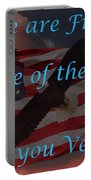 Thank You Veterans Portable Battery Charger