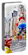 Thanksgiving Parade Portable Battery Charger