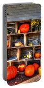 Thanksgiving Pumpkin Display No. 1 Portable Battery Charger