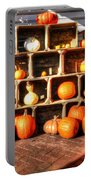 Thanksgiving Pumpkin Display No. 2 Portable Battery Charger