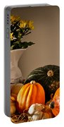 Thanksgiving Still Life Portable Battery Charger