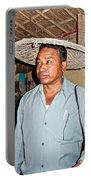 Tharu Chitwan National Park Naturalist In Tharu Village In Nepal  Portable Battery Charger