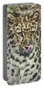 That Was Delicious Portable Battery Charger by Trish Tritz