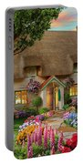 Thatched Cottage Portable Battery Charger