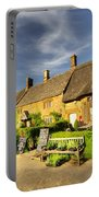 Thatched Cottages At Great Tew  Portable Battery Charger