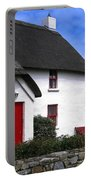 Thatched Roof House Portable Battery Charger