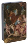 The Abduction Of Europa Portable Battery Charger