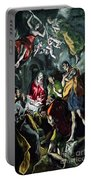 The Adoration Of The Shepherds From The Santo Domingo El Antiguo Altarpiece Portable Battery Charger