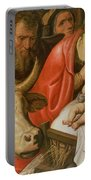 The Adoration Of The Shepherds Portable Battery Charger