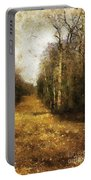The Allee At Dawn Portable Battery Charger