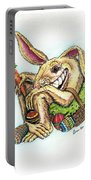 The Altered Easter Bunny Portable Battery Charger