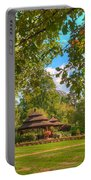 The Alumni Memorial Grove Towards Founders Hall Portable Battery Charger