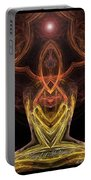 The Angel Of Meditation Portable Battery Charger